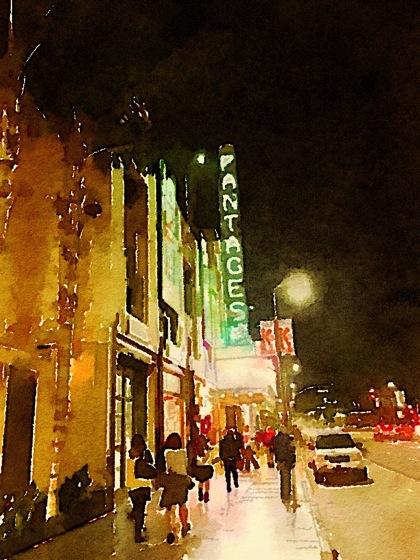 Photos: Pantages Theater 7 ways waterlogue 2
