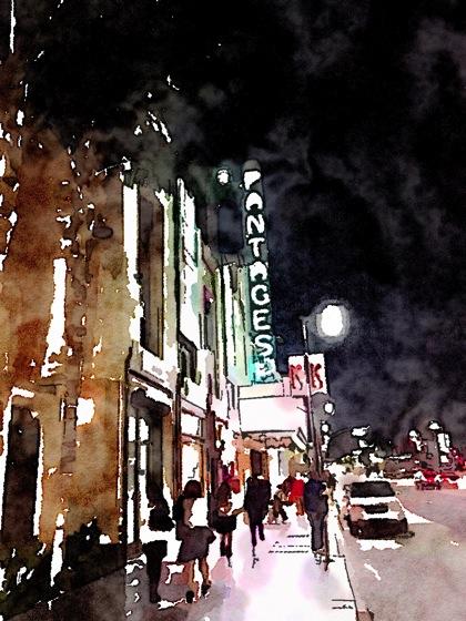 Photos: Pantages Theater 7 ways waterlogue 3