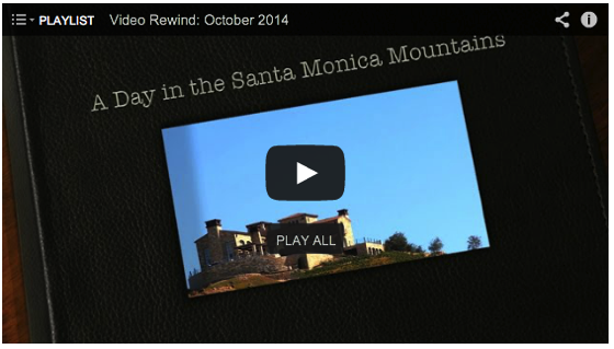 Video Rewind for October 2014: Watch what you missed! - 27 Videos