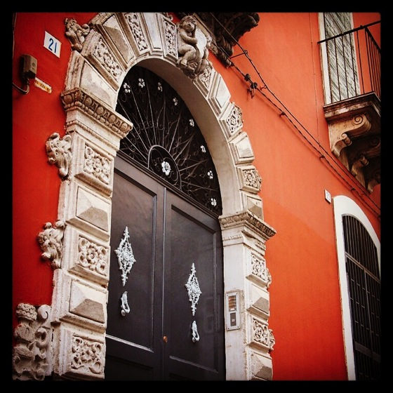 Photo: Baroque Doorway in Catania, Sicily via #instagram