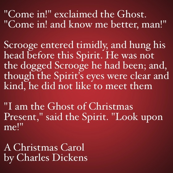 My Favorite Quotes from A Christmas Carol #28 - Come in and know me better man!