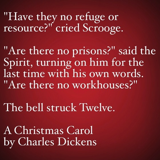 My Favorite Quotes from A Christmas Carol #34 - Are there no prisons?