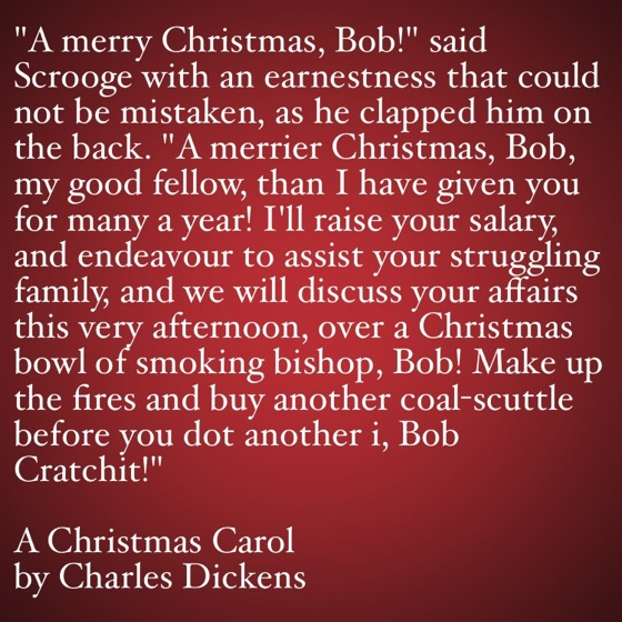 My Favorite Quotes from A Christmas Carol #48 - …before you dot another i...