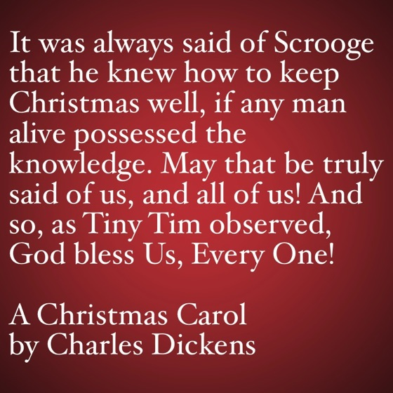 my favorite quotes from a christmas carol god bless us