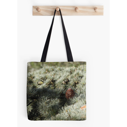 Fir tree tote sq