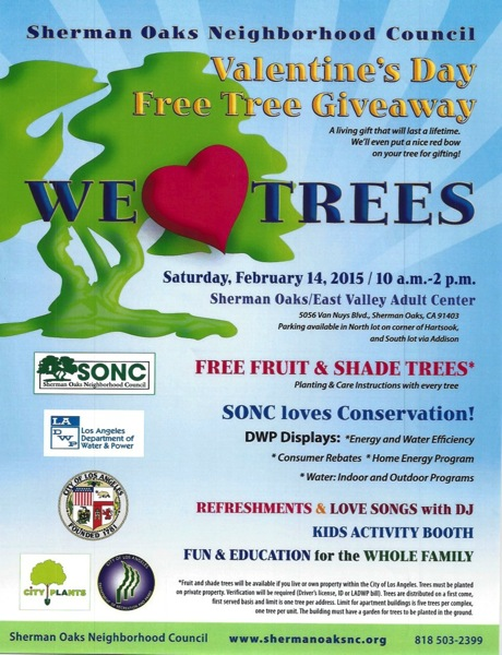 Tree giveaway