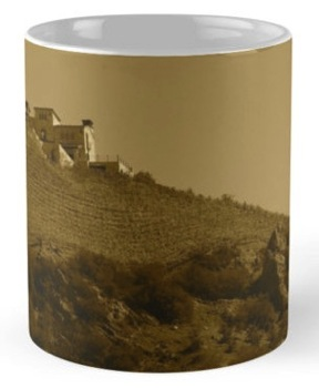 Products: Villa in the Vineyard - Antique Style -- my photography on smartphone cases, cards, totes and more!