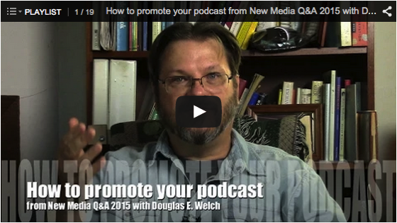 Video Rewind for April 2015 – What did you miss on DouglasEWelch.com?