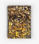 Elm leaves notebook