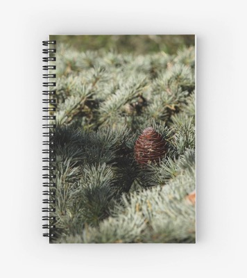 Fir tree notepad