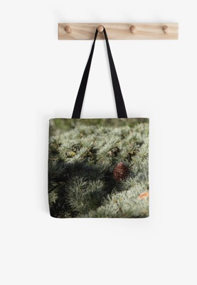 Fir tree tote