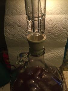 Cider Airlock