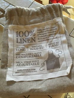 In The Kitchen Linen Kitchen Apron From Sur La Table On