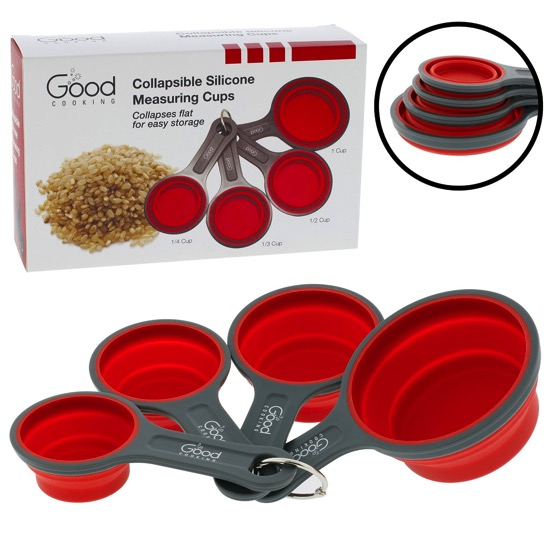In The Kitchen: Collapsible Measuring Cups