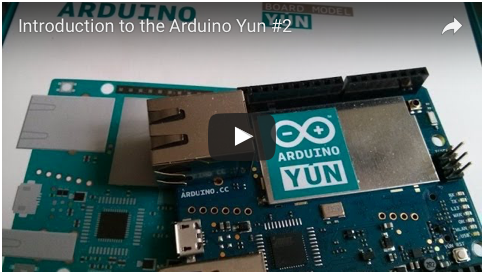 Liked: Introduction to the Arduino Yun #2 [Video]
