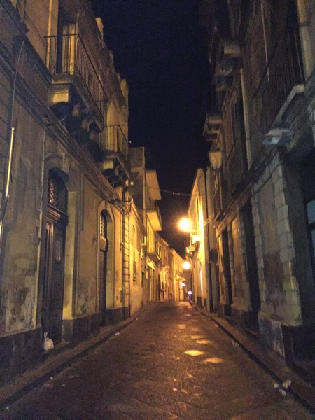 A Stroll through Acireale at Midnight  6