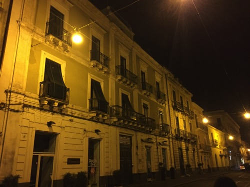 A Stroll through Acireale at Midnight  5