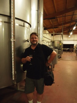 Douglas in his natural state  At Murgo Winery
