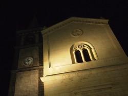 Nicolosi Church at Night  1