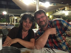 Rosanne and Douglas at La Polena