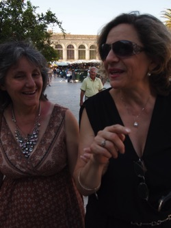 Rosanne and Conchetta Stroll in Siracusa  4