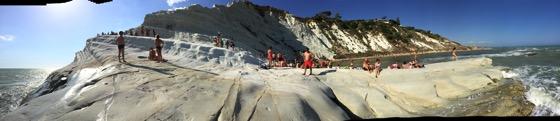 Scala dei Turchi Panorama  1