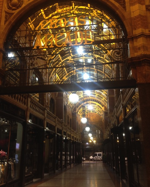 Cross Arcade, Leeds, UK #leeds #uk #architecture #travel #arcade