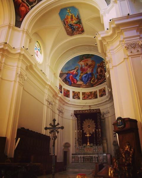 Noto Cathedral Interior, Noto, Sicily, Italy #architecture #building #interior #church #italy #sicily #travel