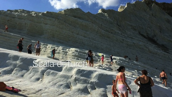 A Minute in Sicily - Scala dei Turchi from My Word with Douglas E. Welch