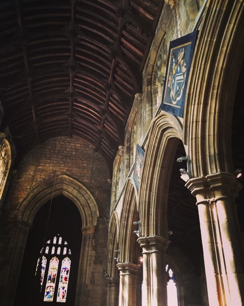 St. Mary's Church, Thirsk, UK Interior #thirsk #uk #travel #church #structure #building #history #yorkshire
