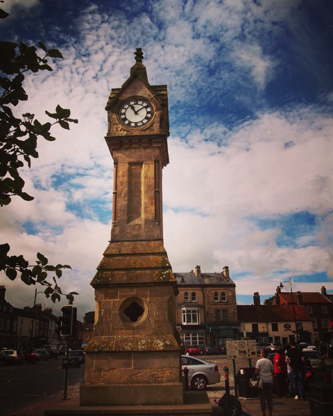 Market Square Clock, Thirsk, UK