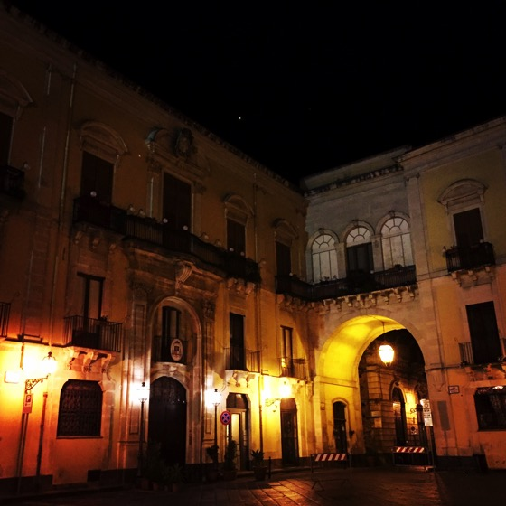 Acireale at Midnight/Mezzanotte #acireale #italy #sicily #architecture #night #travel #building #structure