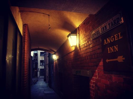 Angel Inn Yard, Leeds, UK #travel #architecture #leeds #uk #history #pub