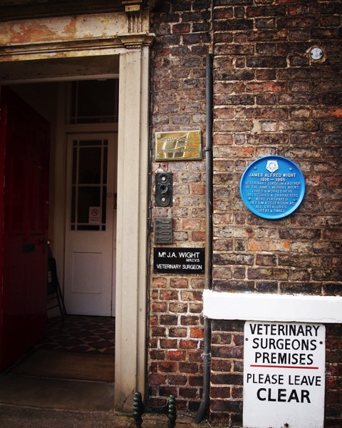 James Herriot/Alf Wight's vet practice and home, now a museum, Thirsk, UK via Instagram [Photo]