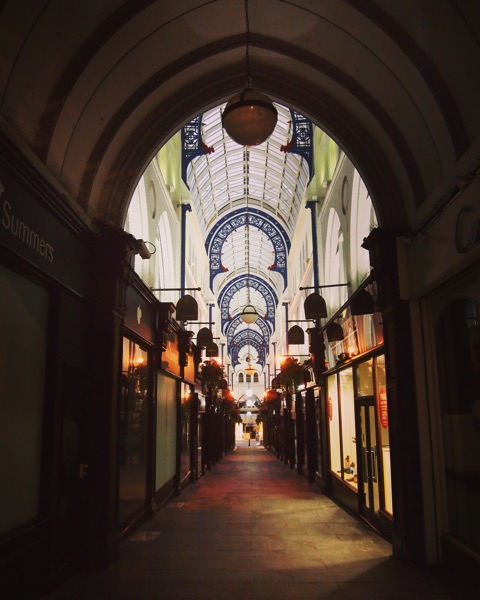 An Arcade in Leeds #travel #leeds #uk architecture #building #history #structure