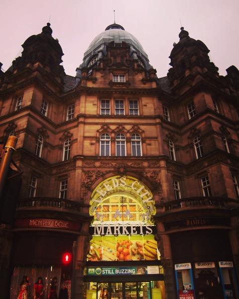 Early Morning, Leeds City Market, Leeds UK #architecture #leeds #uk #travel