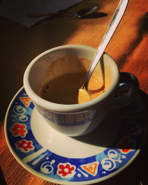 A Sicilian Morning #coffee #caffe #sicily #italy #morning #travel #food #drink