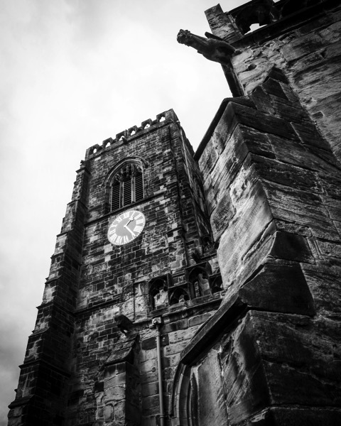 St. Mary's Church, Thirsk, U.K. #blackandwhitephotography #blackandwhite #thirsk #uk #travel #church #architecture