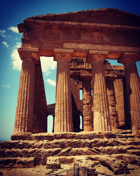 Valli dei Templi, Agrigento, Sicily, Italy #travel #history #sicily #italy #greek #architecture