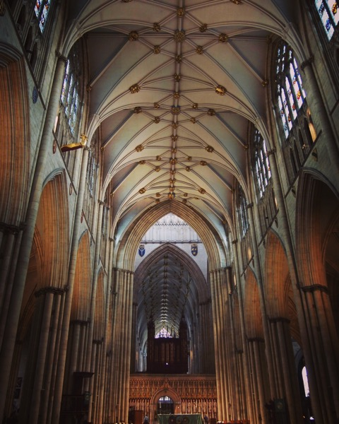 York Minster, York, UK #travel #uk #york #architecture #structure #interior #building #church