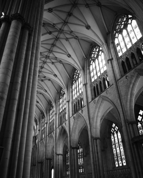 York Minster Interior 1 #york #uk #yorkminster #architecture #bw #blackandwhite #blackandwhitephotography #history #historical