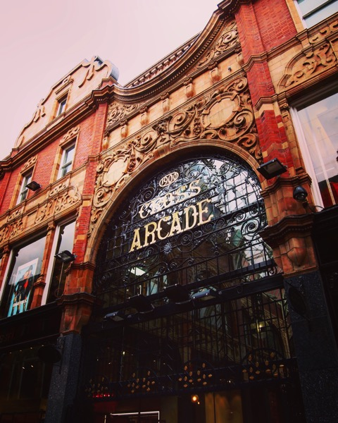 douglaswelchCross Arcade, Leeds, UK 🇬🇧 #architecture #building #travel #Leeds #uk #arcade