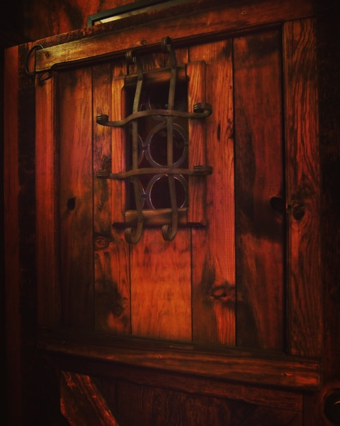 What's The Password? #door #architecture #wood #interior #design