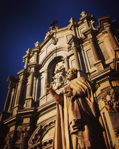 Duomo, Catania, Sicily, Italy #travel #architecture #sicily #italy