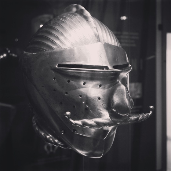 Jousting Helmet, Royal Armouries Museum Leeds, UK [Photo]