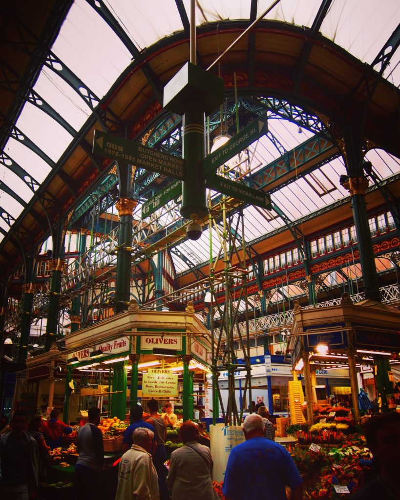 Leeds City Market, Leeds, UK #travel #leeds #uk #building #victorian #market #food