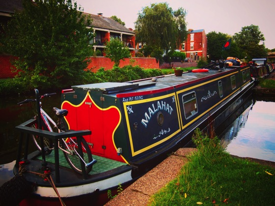 Malahat on the Nottingham Canal #canal #boat #narrowboat #nottingham #uk #travel