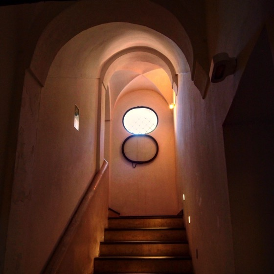 Monastery Stairway, Parco dell'Etna headquarters #sicily #italy #history #travel #architecture #interior