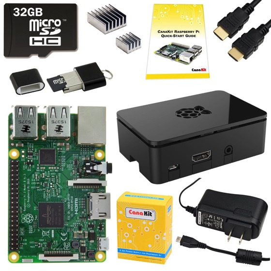 2016 Douglas E. Welch Gift Guide: CanaKit Raspberry Pi 3 Complete Starter Kit