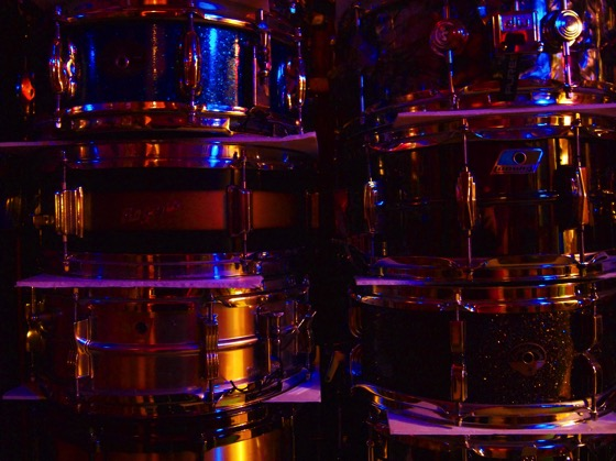 A stack of snares #music #instruments #drums #studio